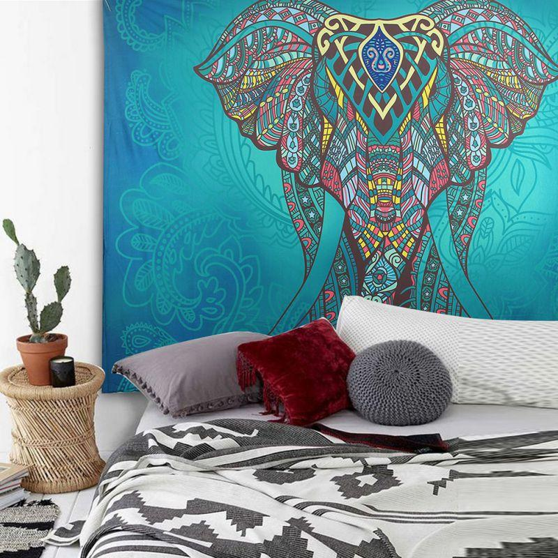 Wall Elephant Tapestry - 6 Choices - Tapestry Room