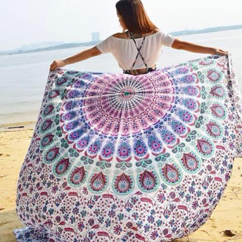 Boho Beauty Mandala Wall Tapestry - 5x7ft - Tapestry Room