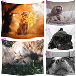 Pooch Love Dog Variety Wall Tapestry - 5x5ft (5 choices) - Tapestry Room