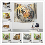 Tiger Wall Tapestry 5x5ft (14 choices) - Tapestry Room
