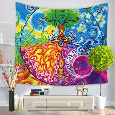 Tree of Life Mandala Wall Tapestry - 7x5ft or 5x5ft - Tapestry Room