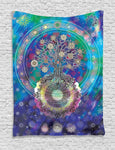 Tree of Life Bohemian Wall Tapestry 7x5ft - Tapestry Room