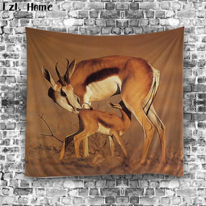 Wild Animal Variety Wall Tapestry - 7x5ft (12 choices) - Tapestry Room