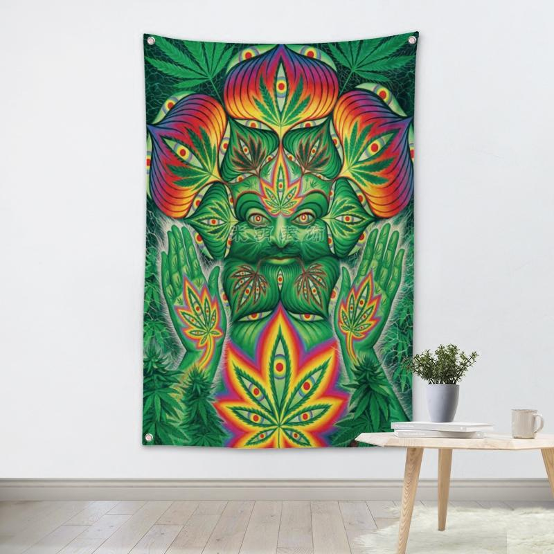 Superior Sativa High Wall Tapestry - 4.25x6.25ft - Tapestry Room