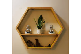 Hex Wall Shelf