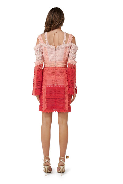 LA RAMBLA LACE MINI DRESS