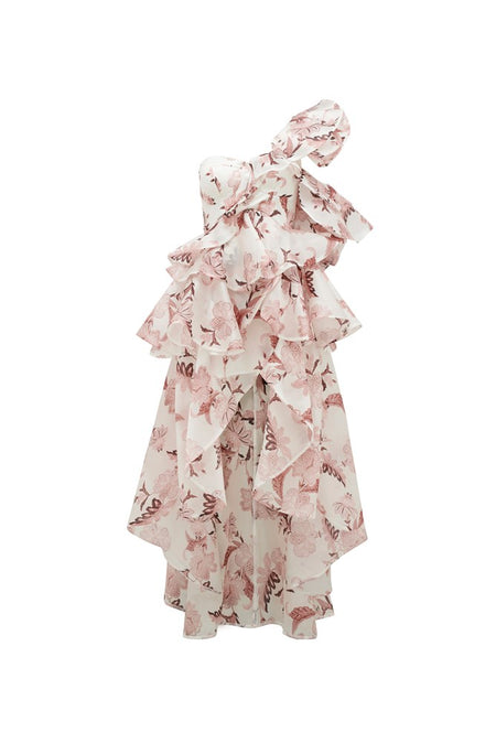 MARION RUFFLE DRESS