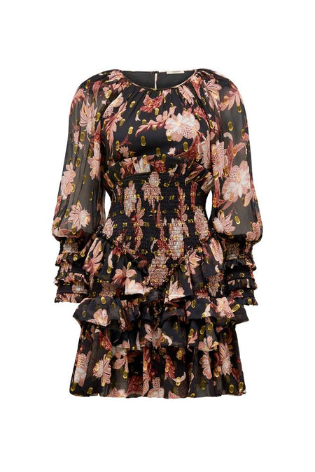 MANOR PRINT DRESS