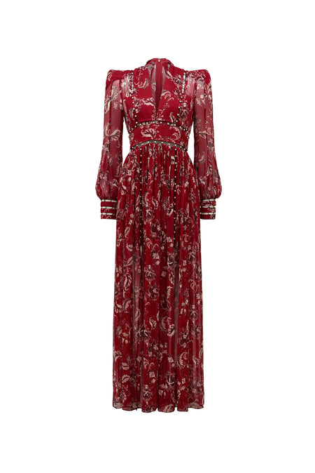 ORISSA PRINT MAXI DRESS