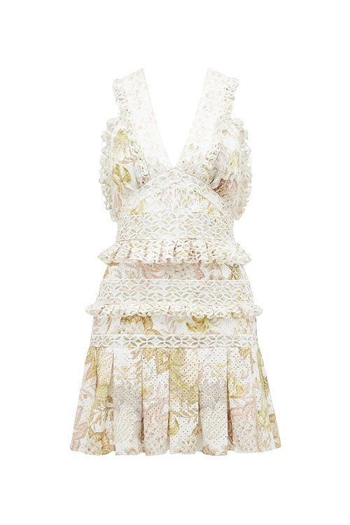 ENCHANTED GARDEN MINI DRESS