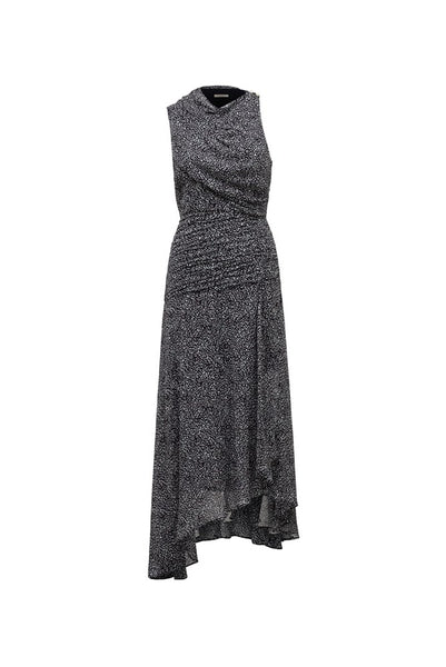 EVENOR DRAPE DRESS