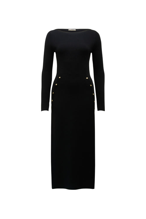 COMPACT KNIT TAILORED DRESS