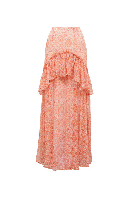 FOLKLORE FRILL DRESS