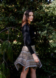 ALADDIN TWEED SKIRT