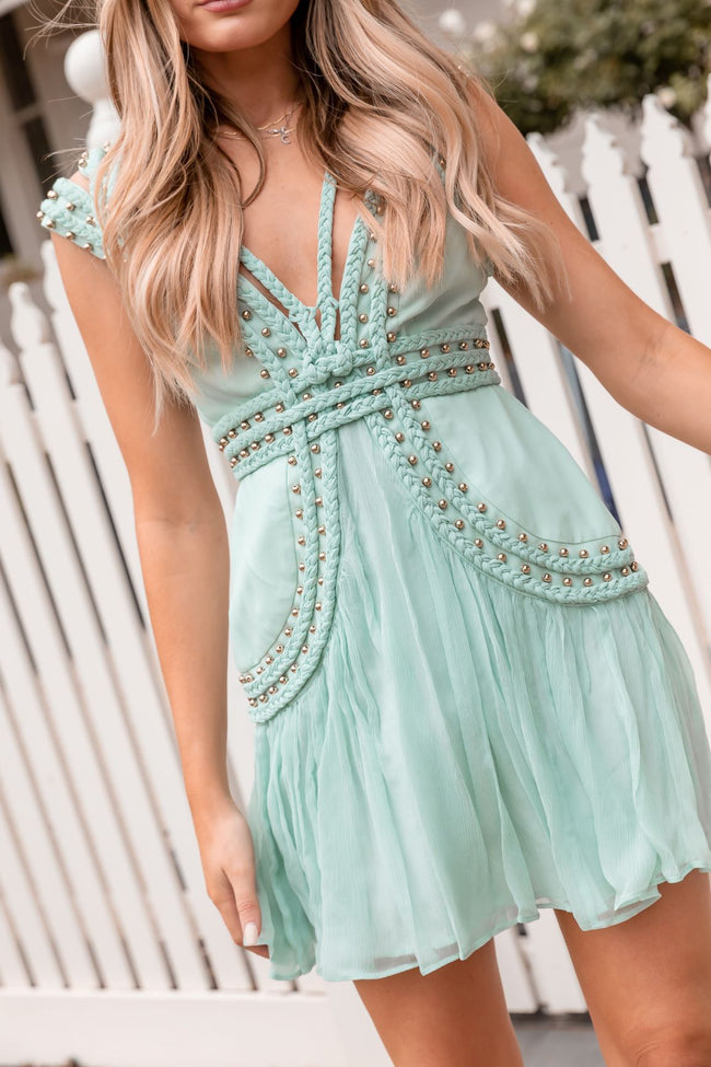 MOON CREST MINI DRESS