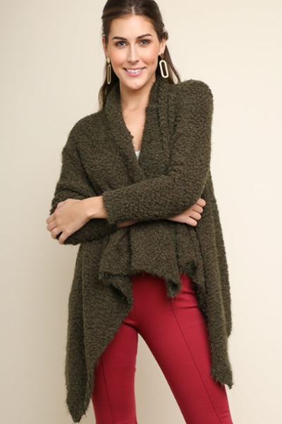By the Bonfire Popcorn Cardi