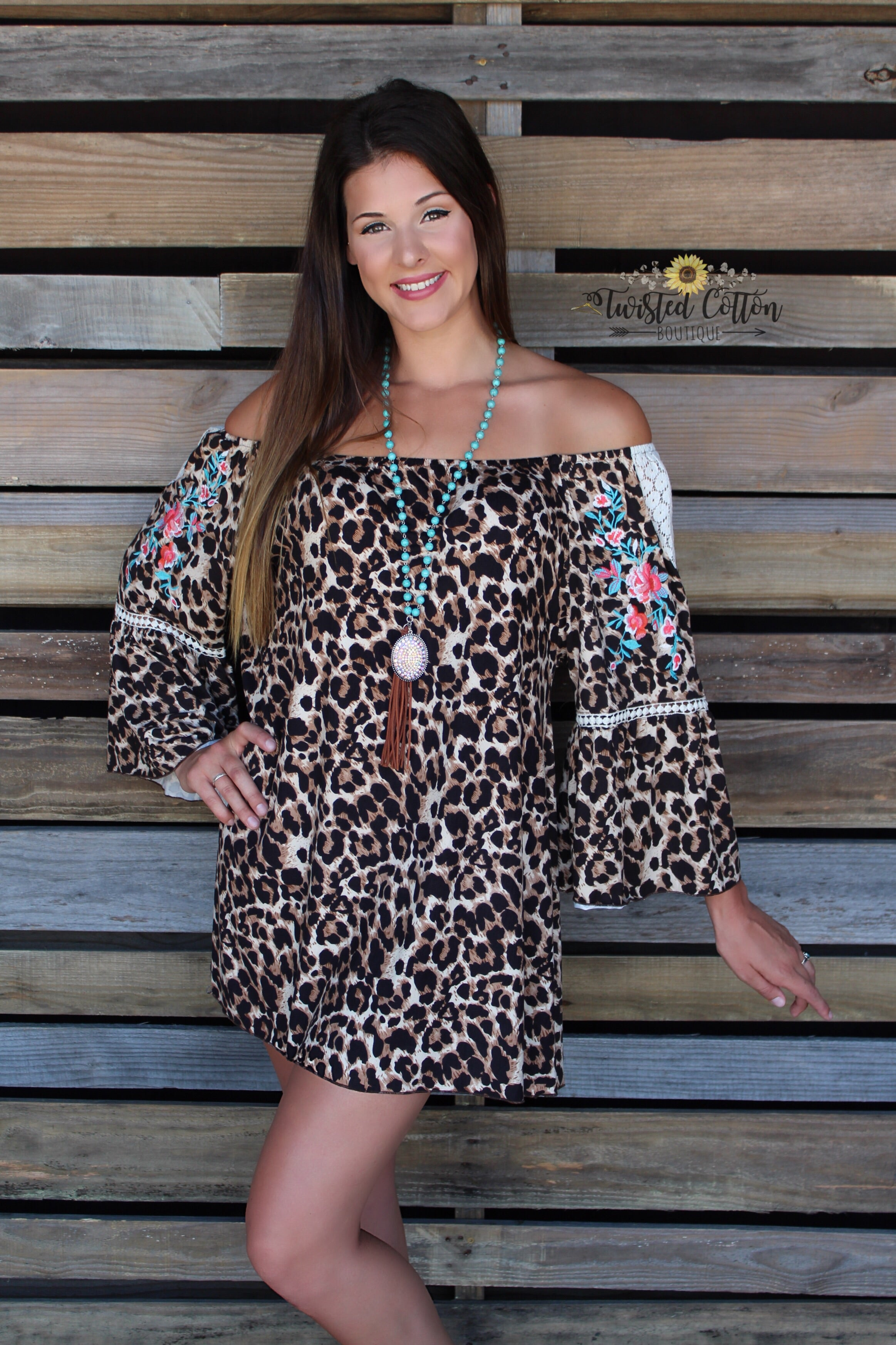 Go Wild, Be Fierce Tunic