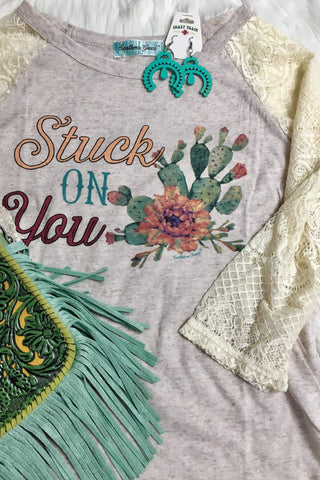 Stuck On You Tee