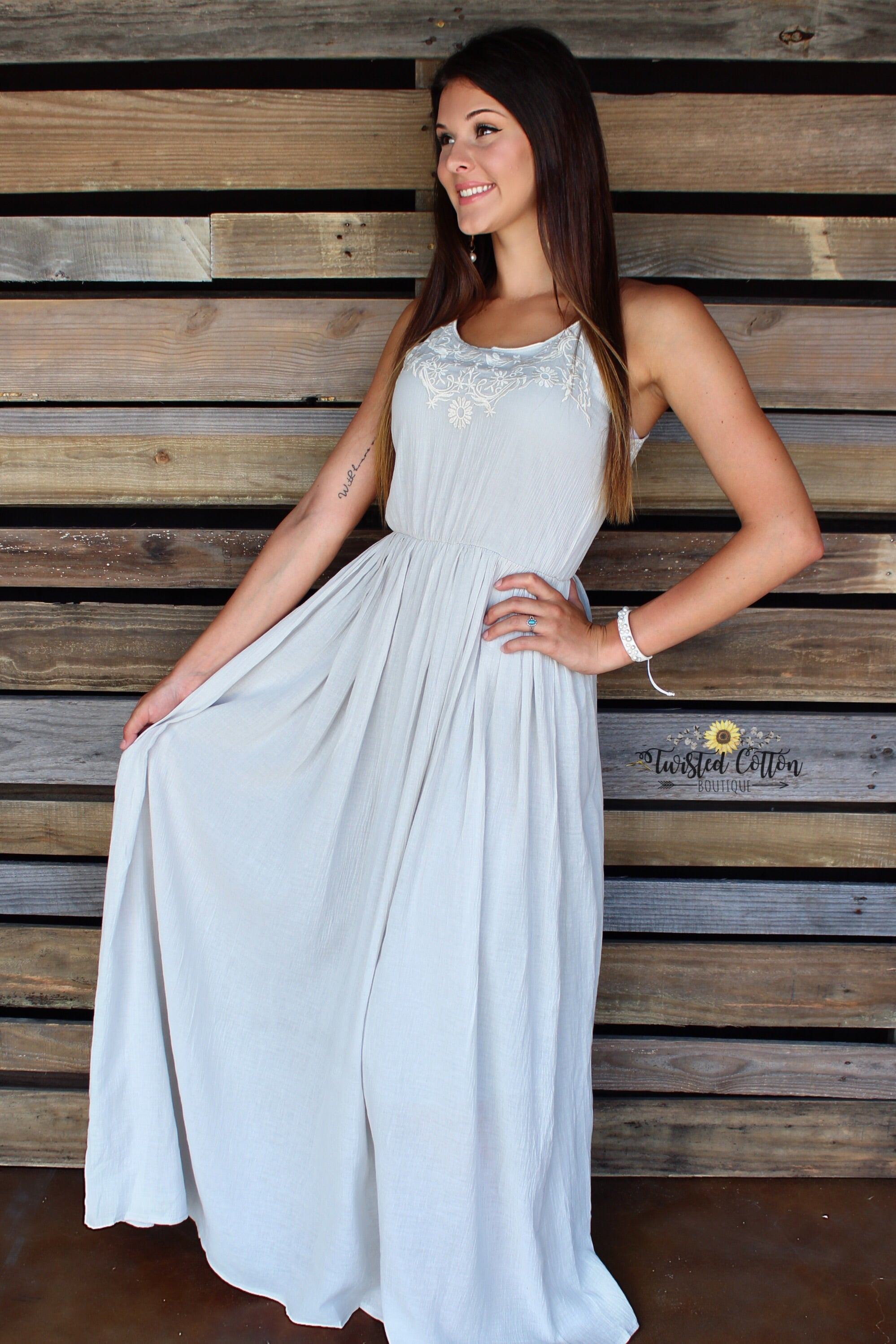 Cinderella by Day Maxi dress
