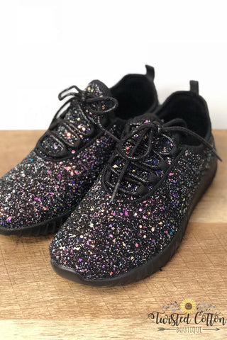 Dark Mermaid Glitter Sneaks