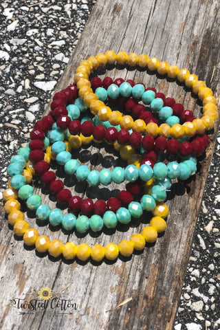 Simple Shine Beaded Bracelets