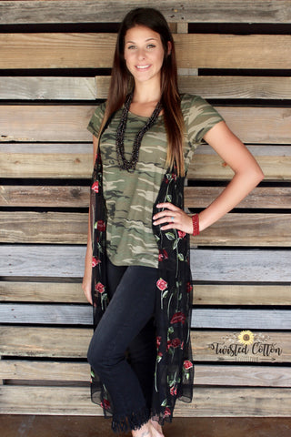 Kiss From a Rose Duster Vest