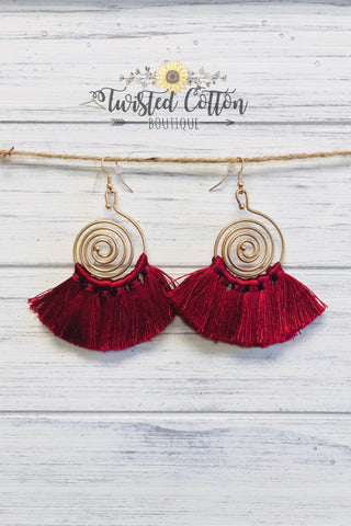 Hypnotic Gold earring