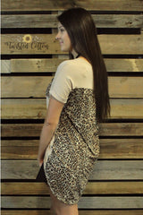 Can't Tame Me Leopard top