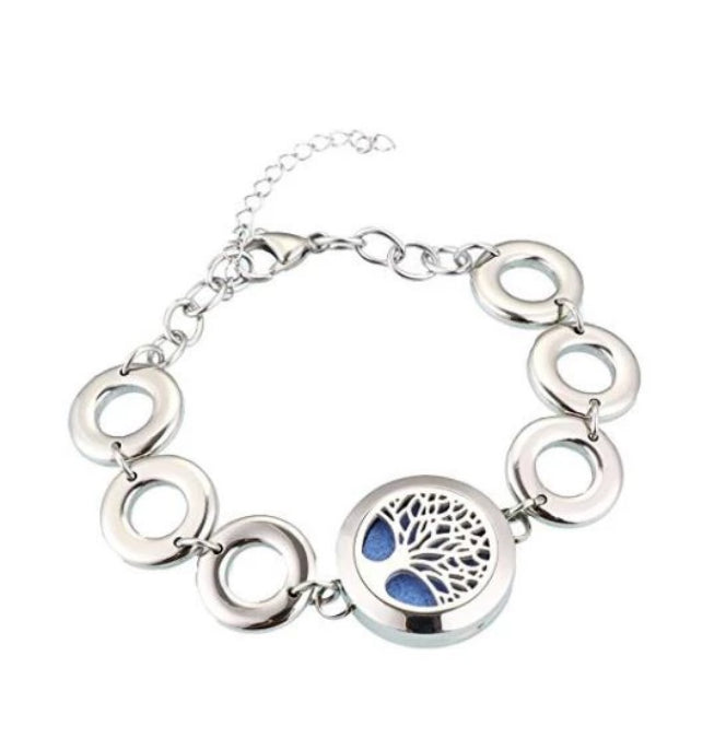 Tree of Life Essential Oil Diffusing Bracelet