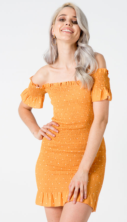 Ibiza Dress in Orange - 32 Dresses