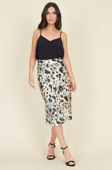 Walk on the Wild Side Midi Skirt - 32 Dresses