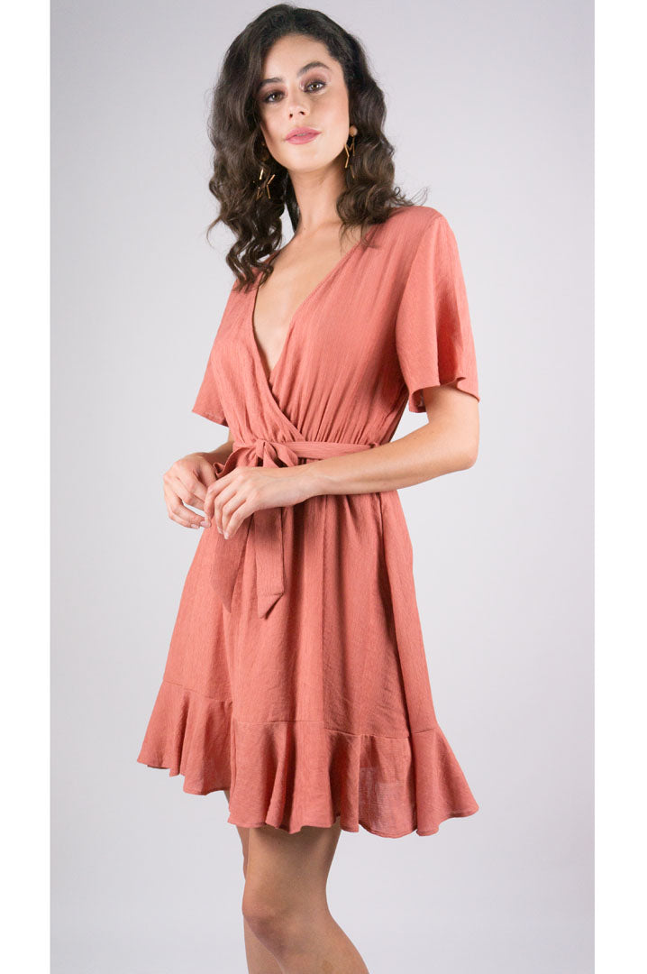 Sienna Dress in Rust - 32 Dresses