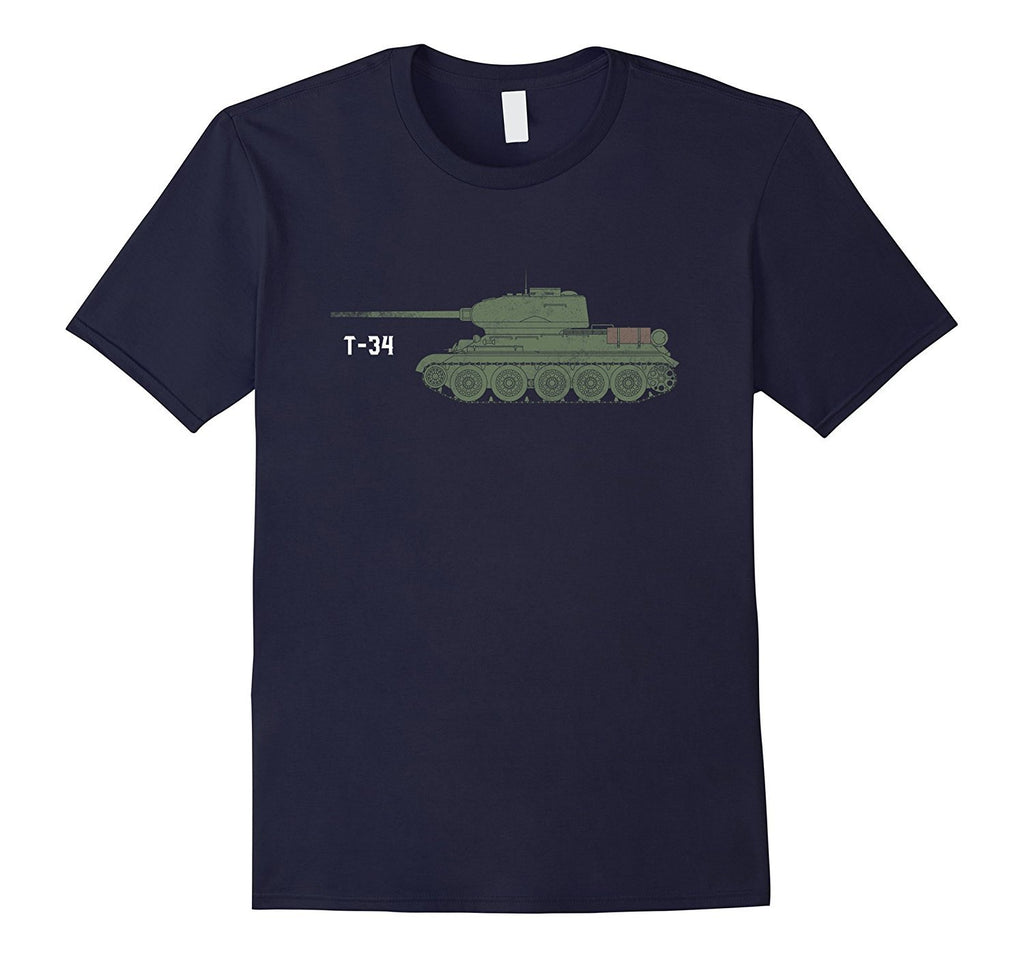 Battle Tank T-34 Military Shirt Love Tanks Army Veteran Tee