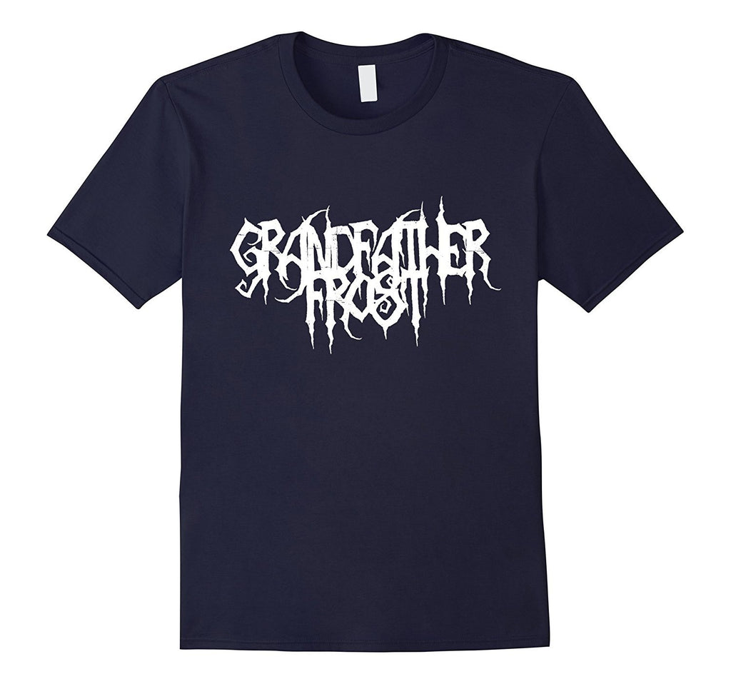 GRANDFATHER FROST - Fake Metal T-Shirt for Christmas