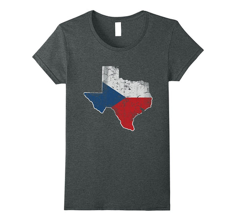 Texas Czech Republic Flag Shirt
