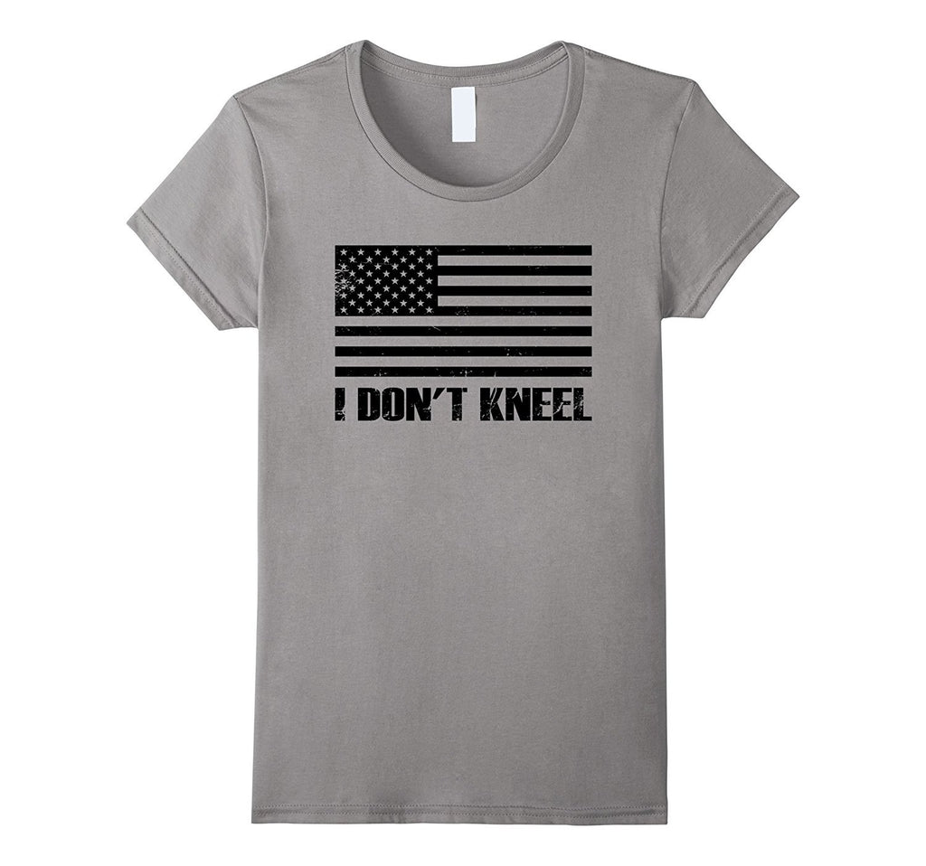I Don't Kneel USA Flag National United Sports Love T-shirt
