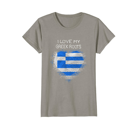 I love my Greek Roots T-Shirt
