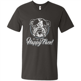 IT´S MY HAPPY FACE - BULLDOG - Women's T-Shirt by American Apparel