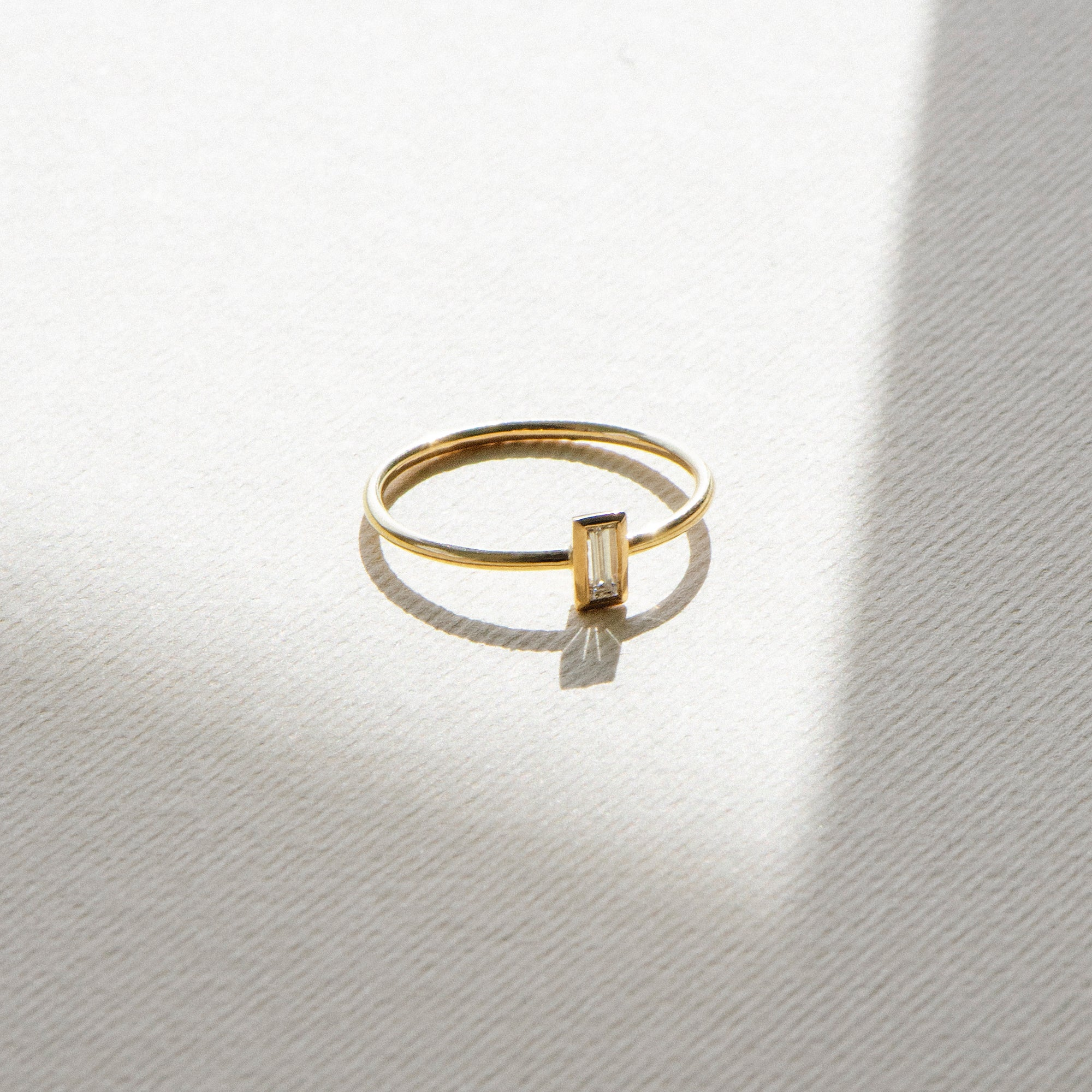 Baby Baguette Ring