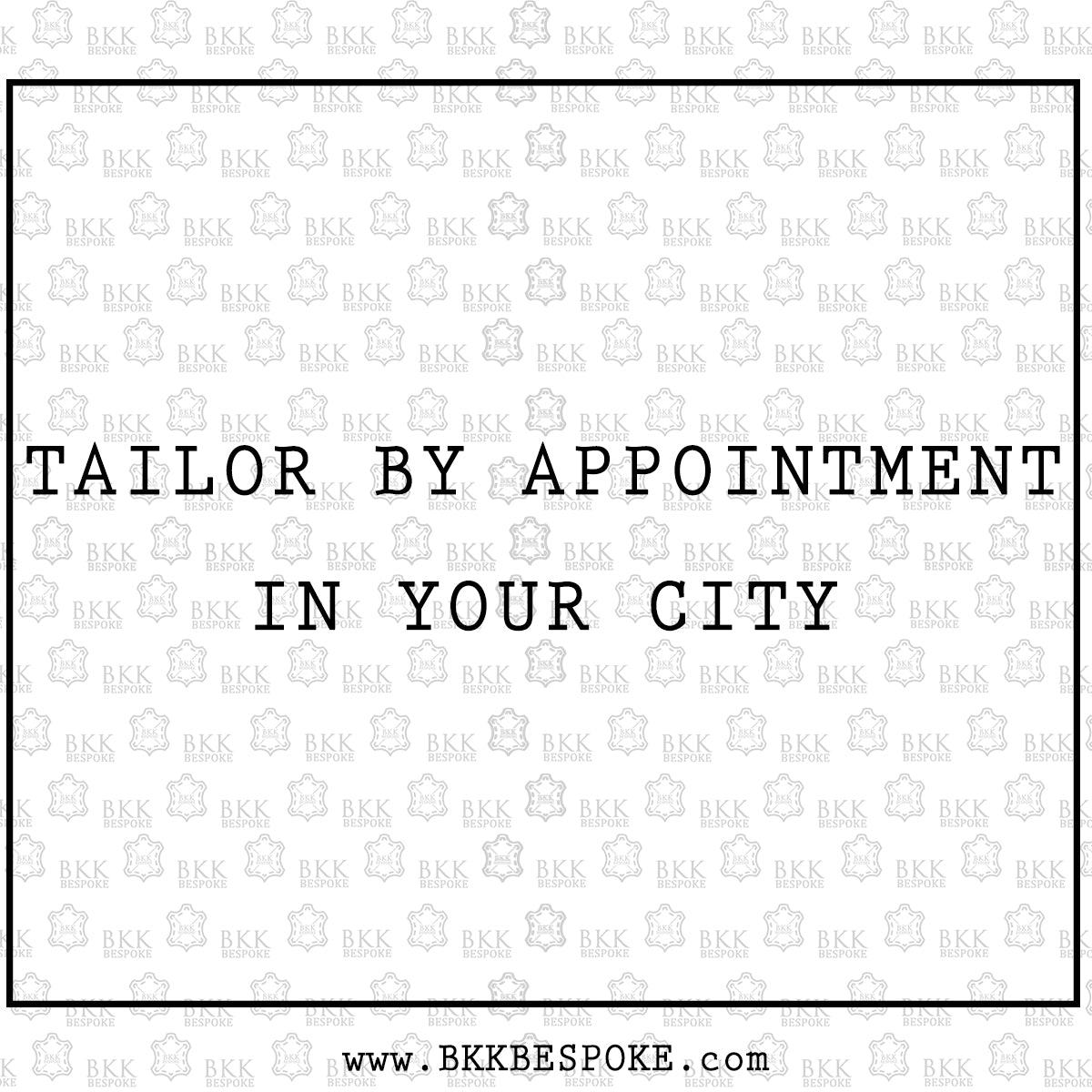 Traveling Tailor - Book an Appointment
