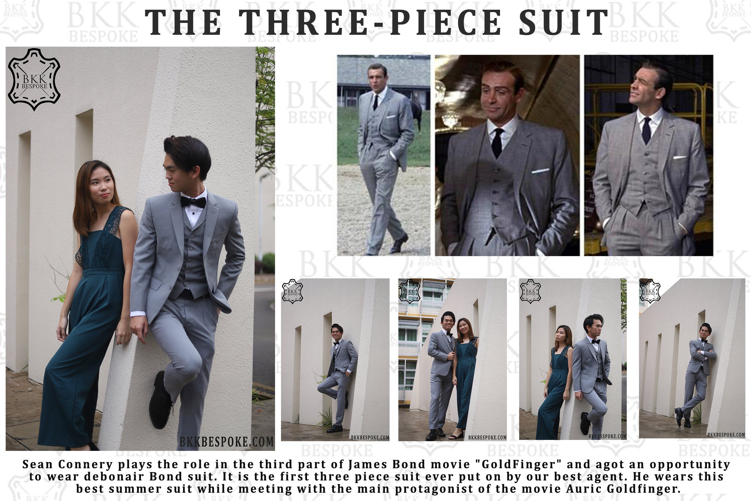 Goldfinger - A Three-Piece-Suit