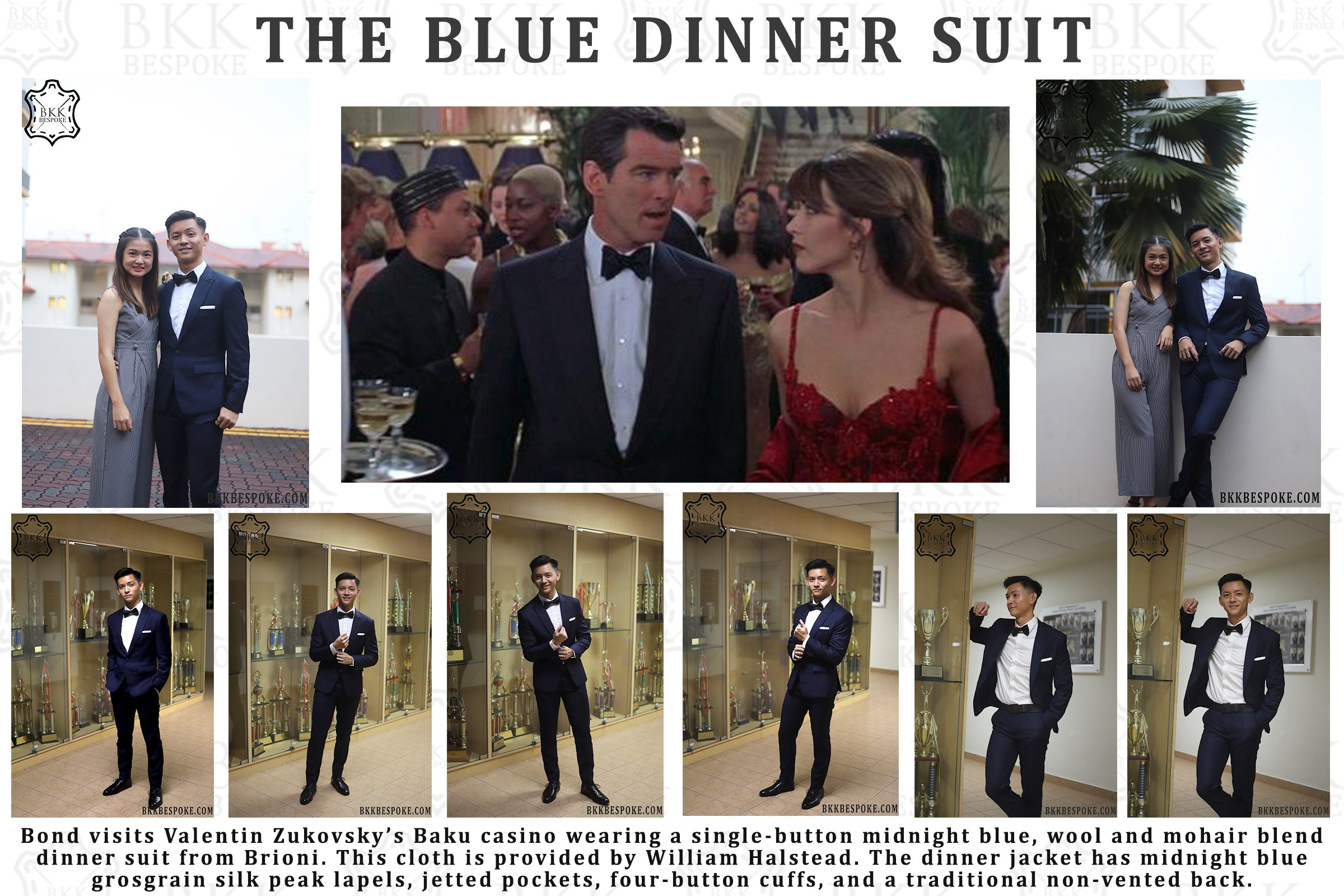 The Midnight Blue Dinner Suit