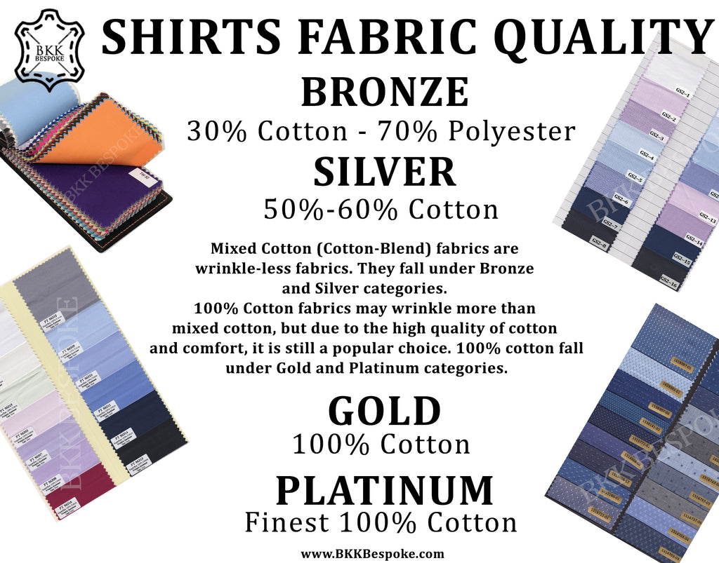 Shirt Fabric Categories
