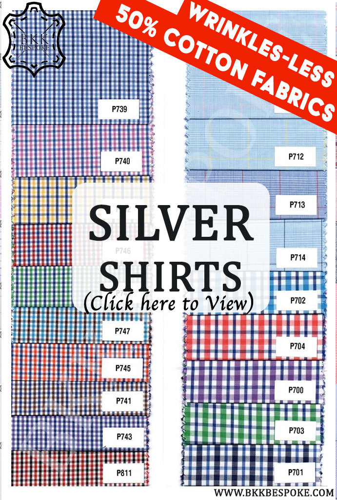50% Cotton Fabrics Shirts