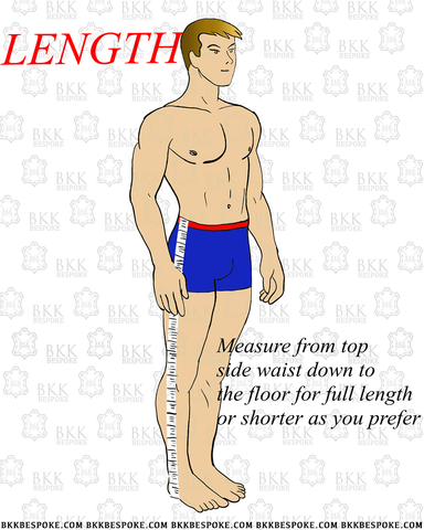 How to Measure Trousers #BKKBespoke
