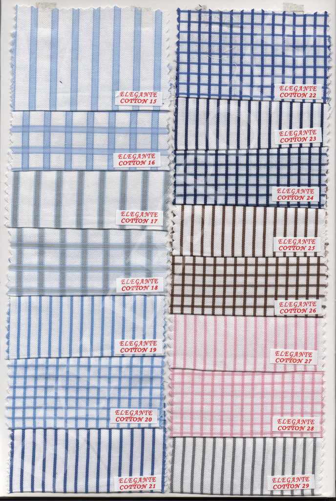 Silver Quality Shirting Fabrics