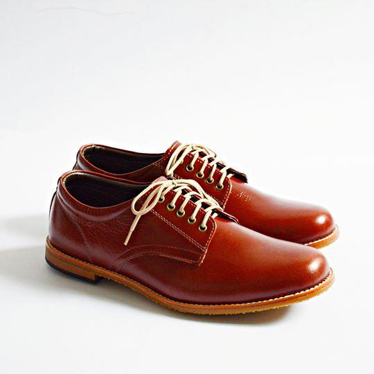 441 Oxford Low-Cut OilBrown