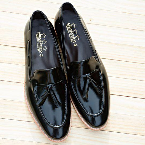 503 Tassel Loafer PianoBlack