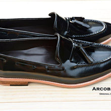 Load image into Gallery viewer, 503 Tassel Loafer PianoBlack
