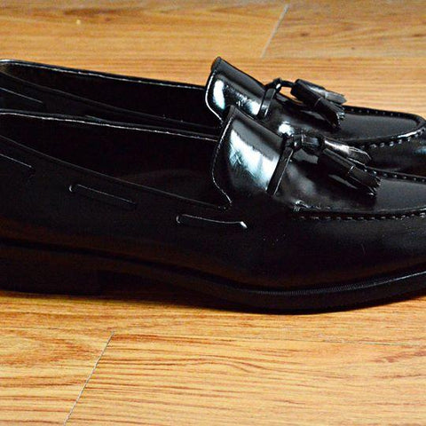 503 Tassel Loafer PianoBlack (พื้นดำ)